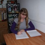 Signing First Pub Contract